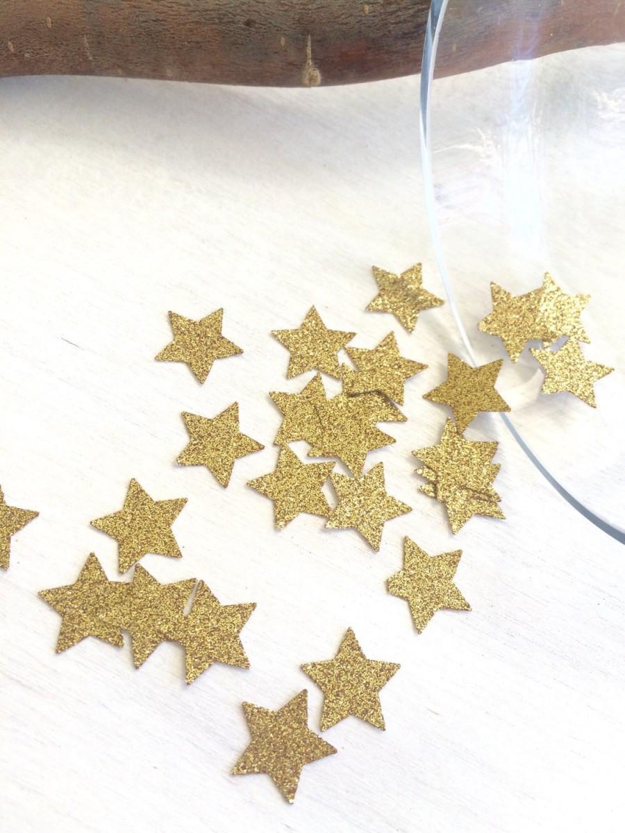 زفاف - Star Confetti