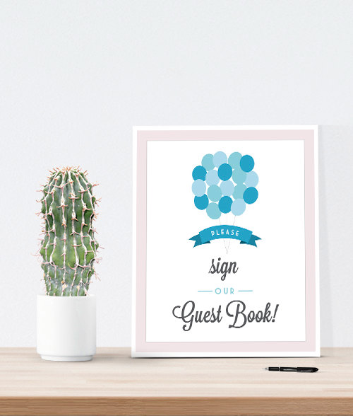 Свадьба - Sign our guest book designed to match any guest book
