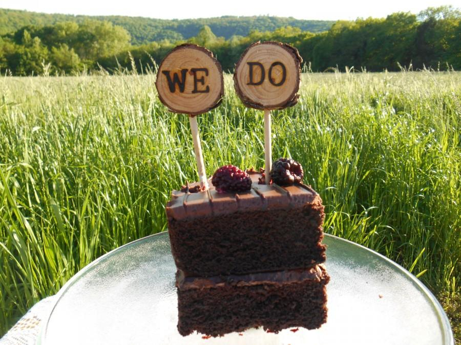 Свадьба - Cake Topper, Wedding Cake Topper, Rustic Wedding, Wood Cake Topper, Rustic Cake Topper