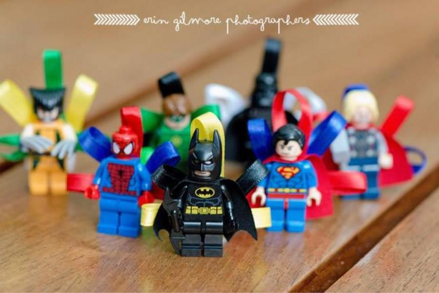 Mariage x men - Spiderman batman lego ...