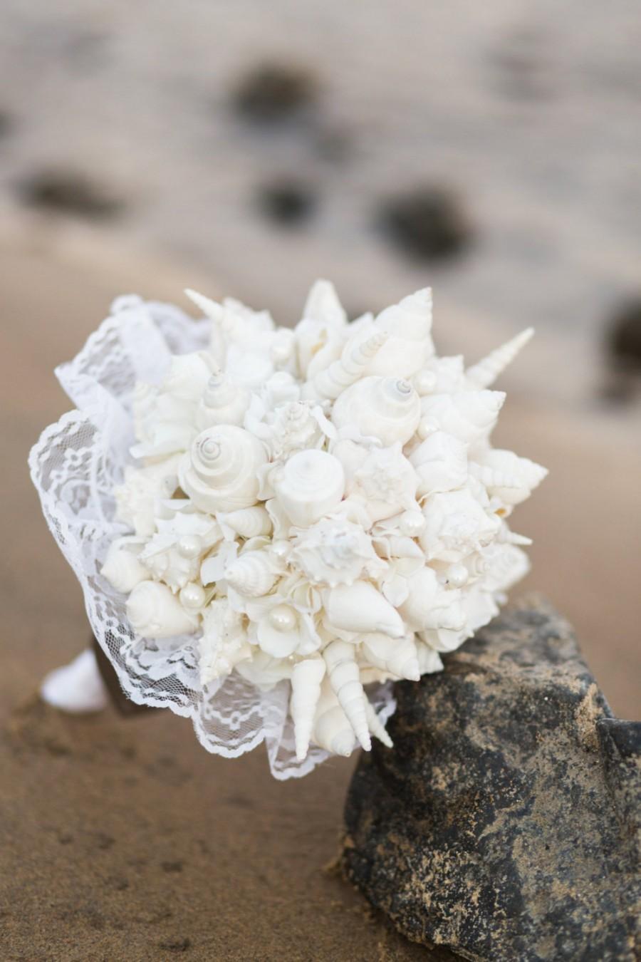 Decor Seashell Bouquet 2401291 Weddbook