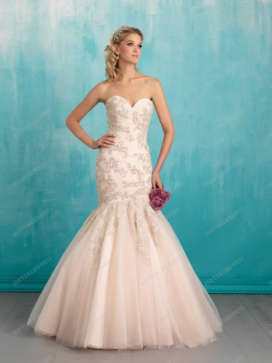 Wedding - Allure Bridals Wedding Dress Style 9300