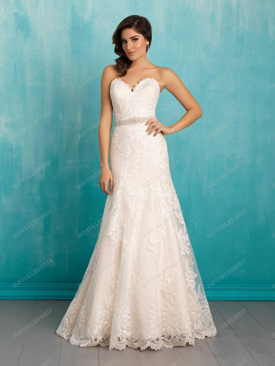 Wedding - Allure Bridals Wedding Dress Style 9302