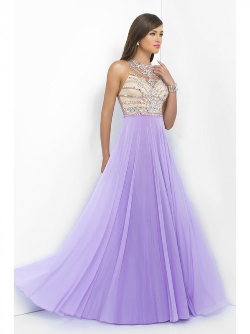 Wedding - Prom Dress with Crystal