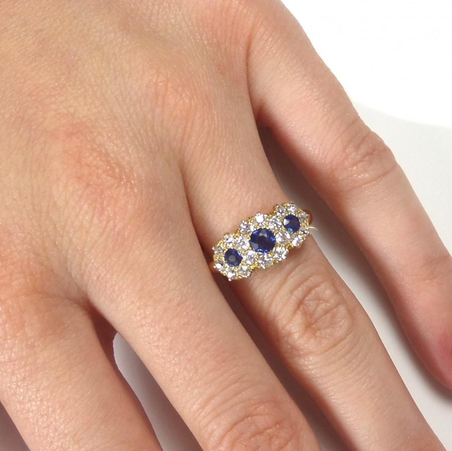 rings white in floating zirconia p over and classic plated ring sapphire silver diamond cubic gold