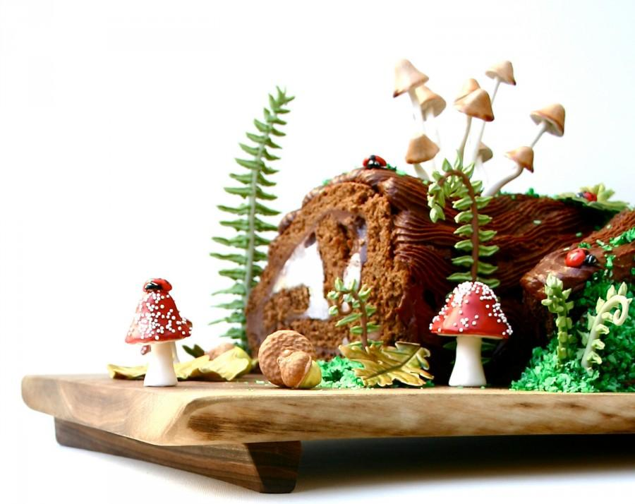 diy woodland cake decorating set single set by andie 39 s specialty sweets with new toadstools. Black Bedroom Furniture Sets. Home Design Ideas
