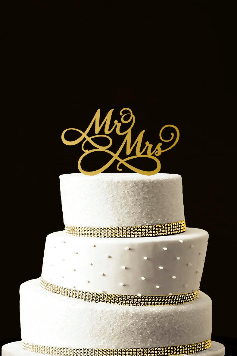 Mariage - Custom Wedding Cake Topper - Personalized Monogram Cake Topper - Initial Cake Topper - Cake Decor - Bride and Groom