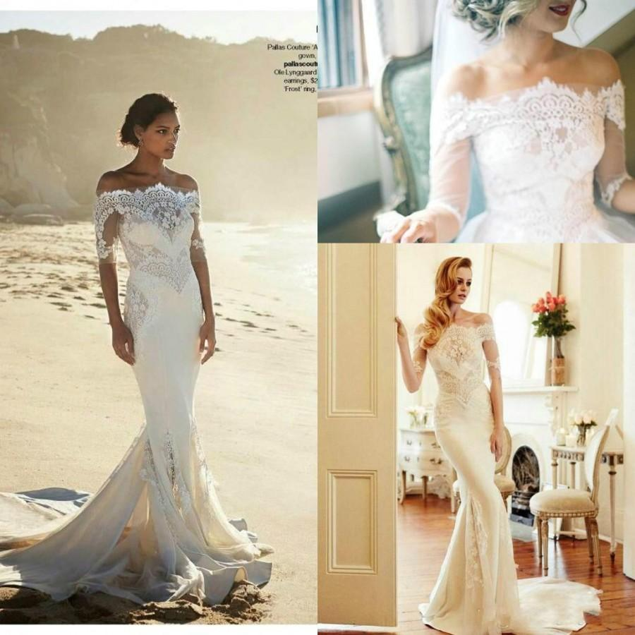 Fitted Wedding Dresses 2015