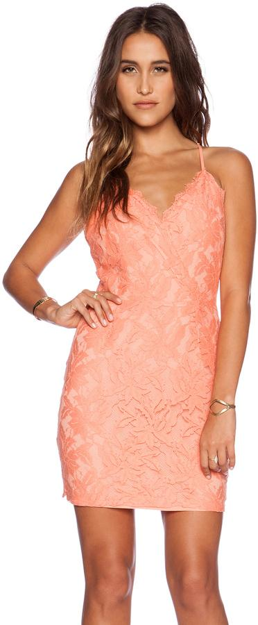 Mariage - Greylin Stasia Floral Lace Dress