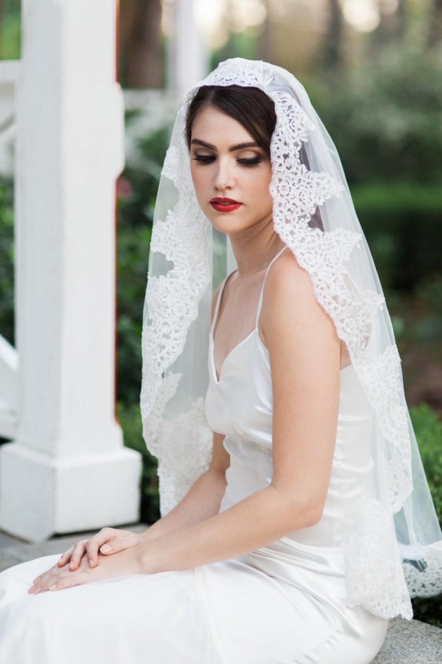 Related Keywords Amp Suggestions For Mantilla Veil