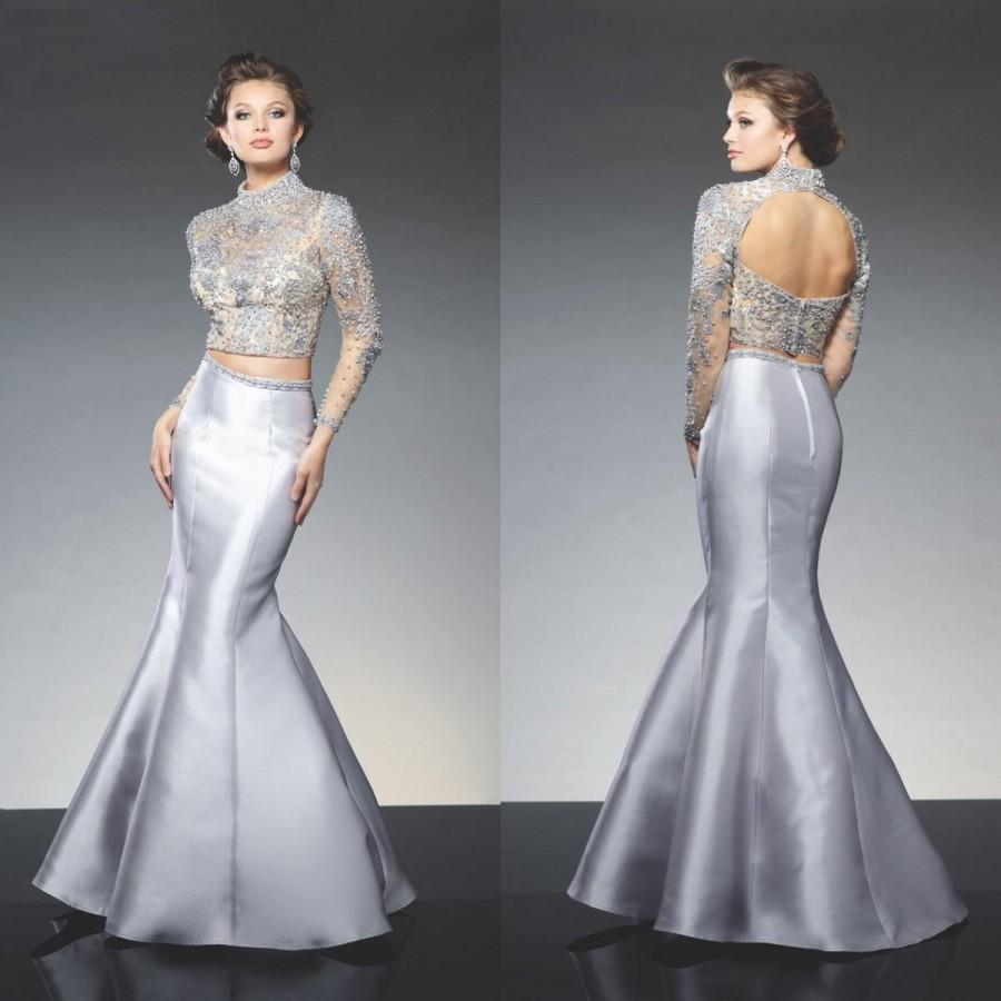 Silver Long Evening Dresses