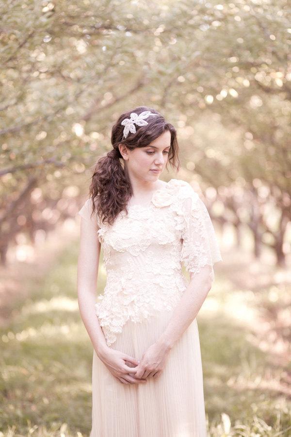 Свадьба - Custom Made Whimsical Wedding Dress, Party Dress
