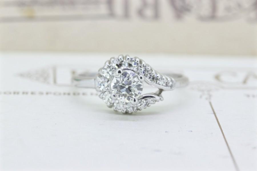 Mariage - Vintage 1960s Engagement Ring