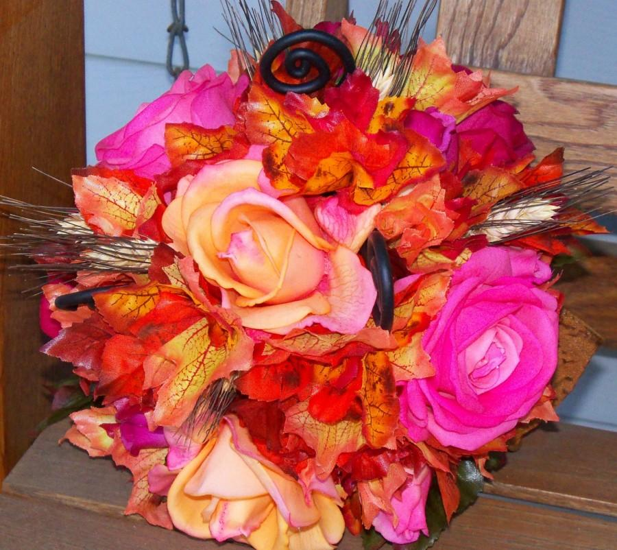 Wedding - Sunset Bridal Bouquet