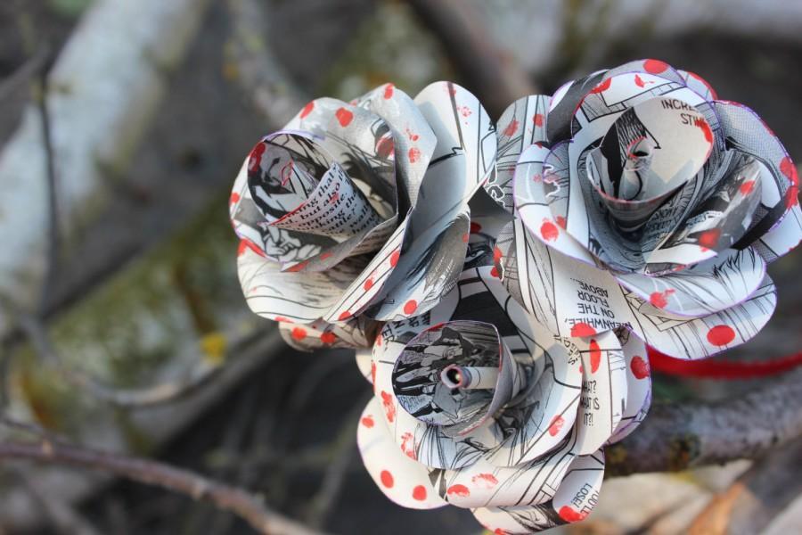 Wedding - Custom Attack on Titan Roses Single Rose
