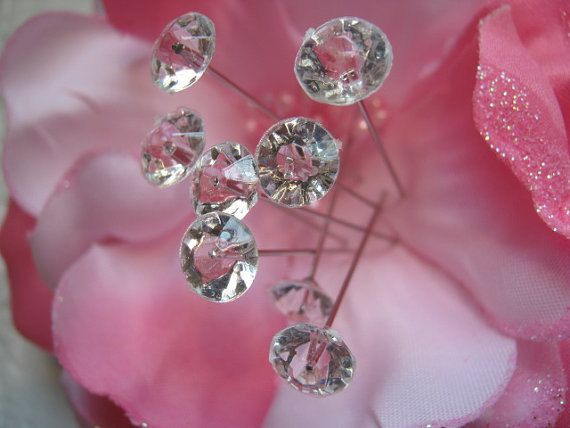 Bridal Bouquet Made Of Jewels : Wedding bouquet jewels gems bridal floral flower crystal