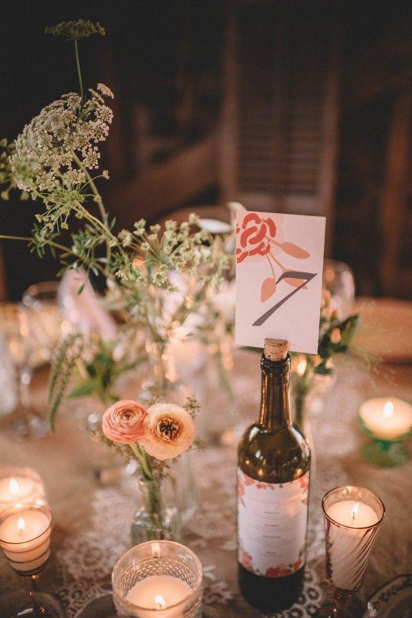 Mariage - Champagne Wedding At Three Barn Farm