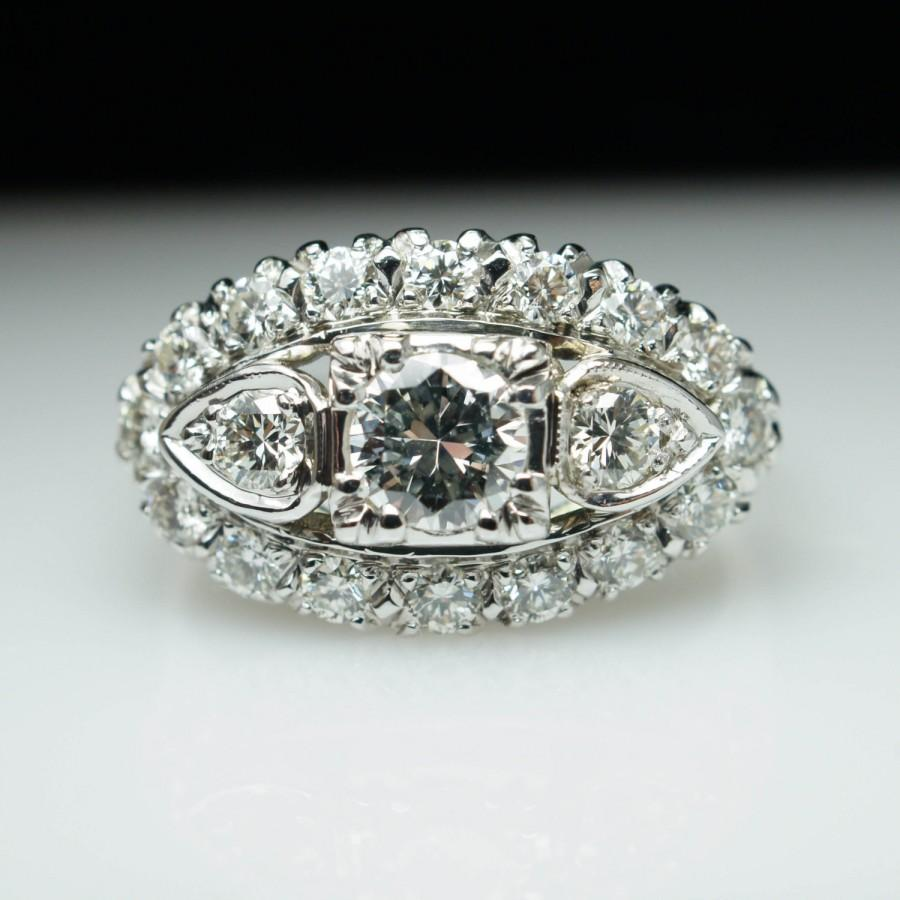and product on diamond ring arpels engagement arpel finger sapphire cleef rings estate van bombe cocktail jewelry