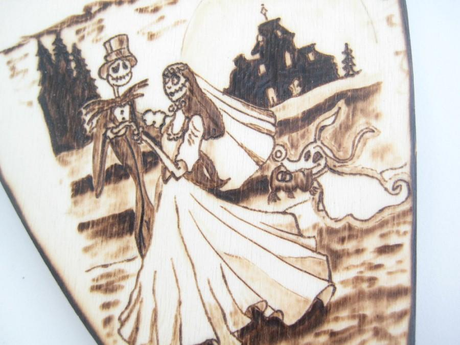 The Nightmare Before Christmas Wedding Cake Topper, Jack And Sally ...