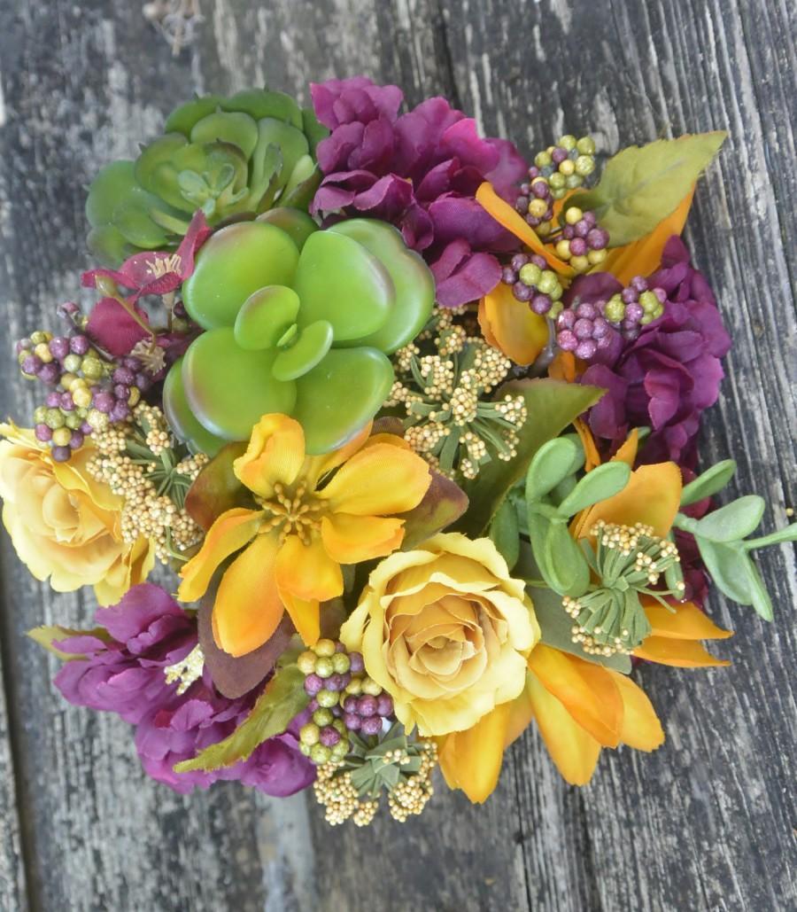 Hochzeit - Raisin in the Sun Bridal Bouquet