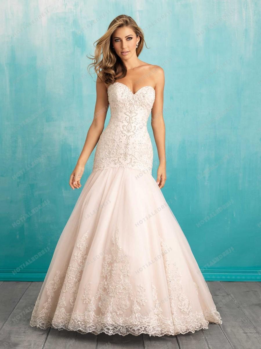 Wedding - Allure Bridals Wedding Dress Style 9325