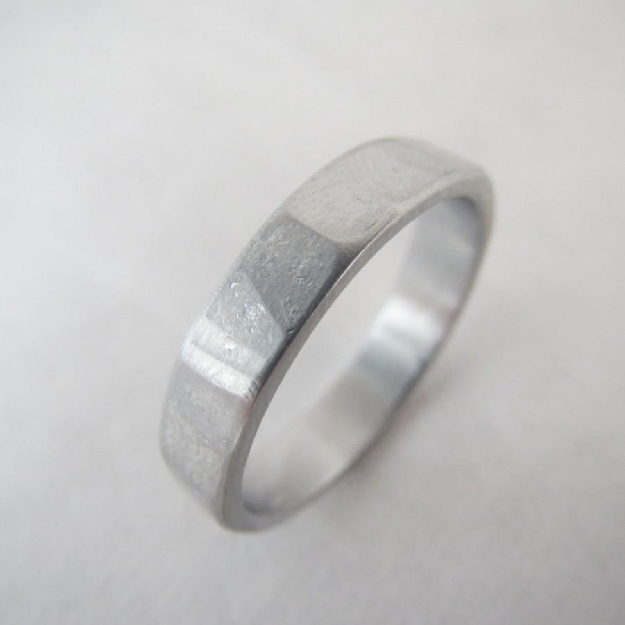 aluminum s ring media rings anniversary weddbook wedding men