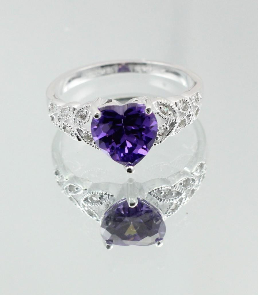 product heart crystals sunshine lee jewelry purple plated crystal dhgate from rings cz glass stones gun com fashion black wedding with amazing