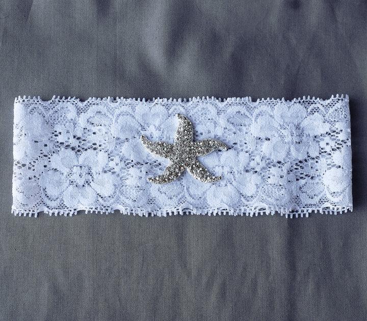 Beach Wedding Garter: Wedding Garter Bridal Garter Set White Or Ivory Lace