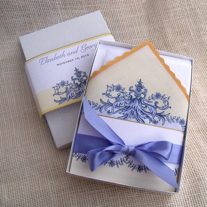 Elegant Wedding Invitation Suite With Baroque Design In