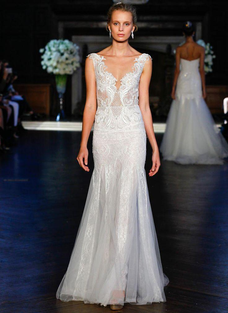 Wedding - You've Got To See Alon Livne's Embroidered Wedding Dresses For Fall 2016