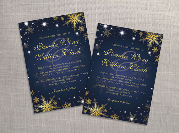 Wedding - DIY Printable Wedding Invitation Card Template