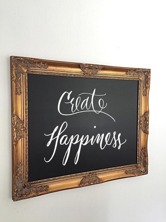 Framed Chalkboard Wedding Sign Large Kitchen Chalkboard Gold Restaurant  Ornate Framed Chalkboard Baroque Menu Board