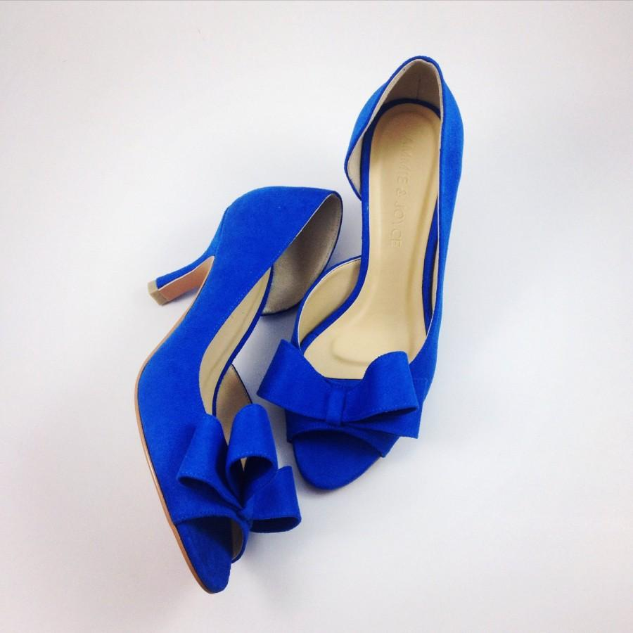 Something Blue Wedding Shoes Electric Blue Wedding Shoes Cobalt