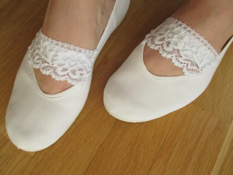 White Cotton Shoes