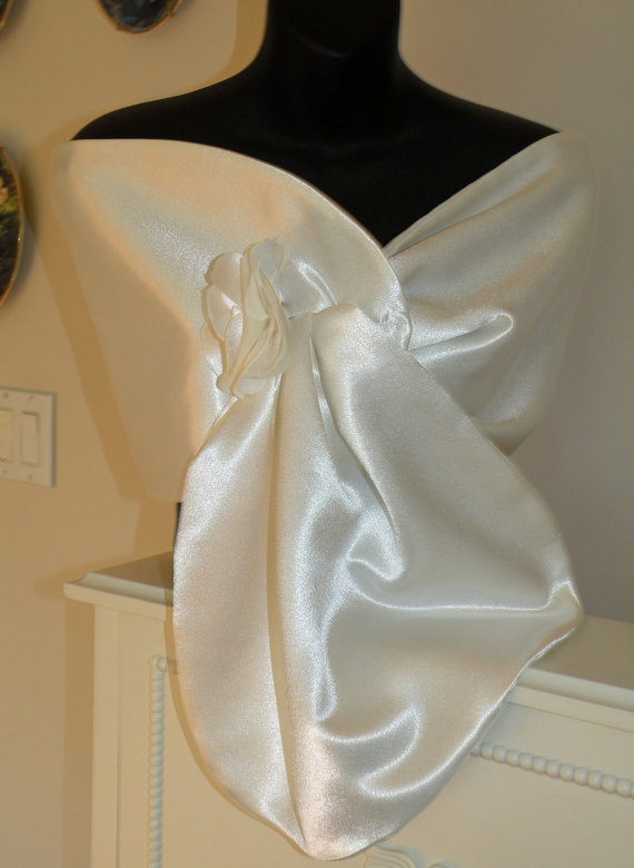 Champagne Wedding Shawl