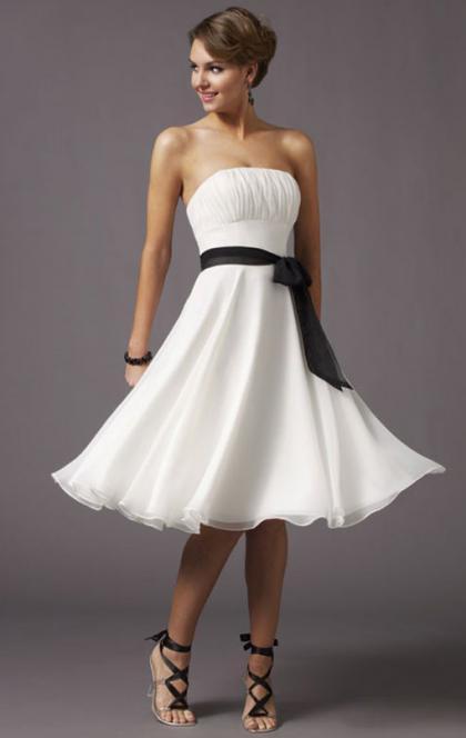 Свадьба - BEAUTIFUL KNEE LENGTH MULTICOLOUR COCKTAIL FORMAL DRESS