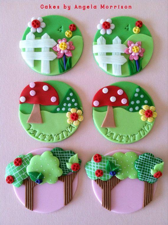 زفاف - Lalaloopsy Inspired Cupcake Toppers