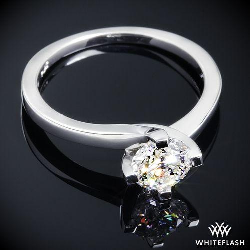 """Свадьба - Platinum """"Carina"""" Solitaire Engagement Ring"""