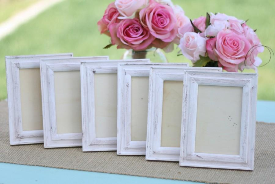Shabby Chic Wedding Frames Distressed Item Number 140290
