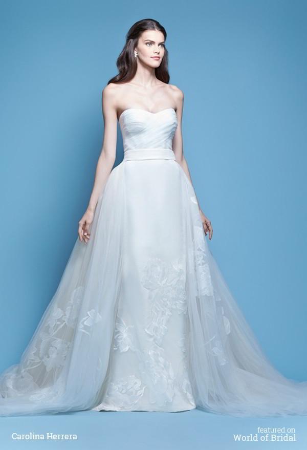 Wedding - Carolina Herrera Spring 2016 Wedding Dresses