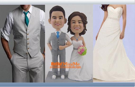 Свадьба - Wedding Cake Topper Custom cake topper Wedding topper Cake toppers - The most Popular item F6