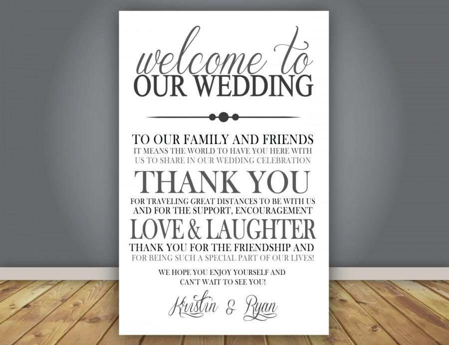 add on thank you note wedding program add on guest thank you