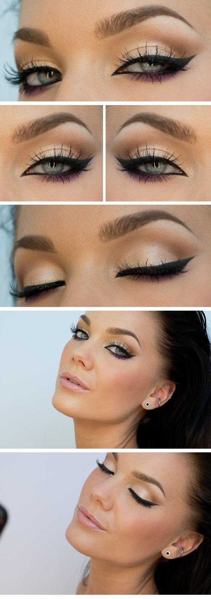 Hochzeit - Cool Eyeliner Styles To Make Your Look Edgier