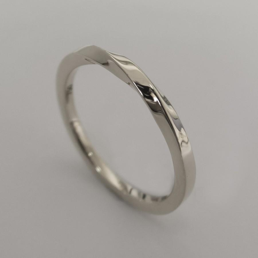 ring rounded platinum wedding london company flat product in band