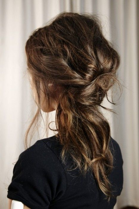Party Hair Inspiration 10 Gorgeous Messy Updos From Pinterest
