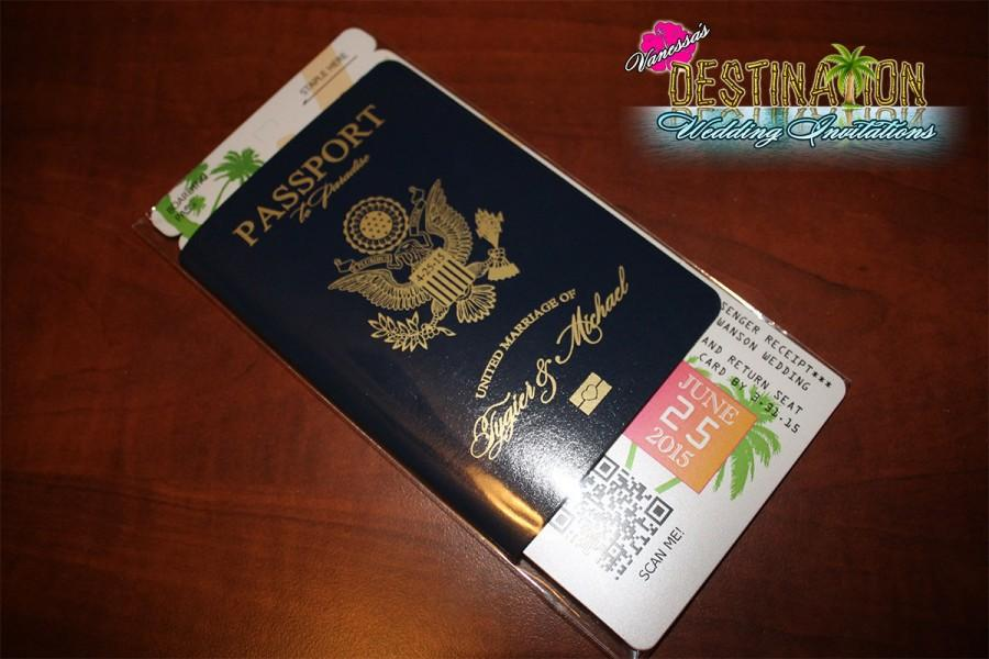 vanessa s destination wedding invitations diy leatherette cover