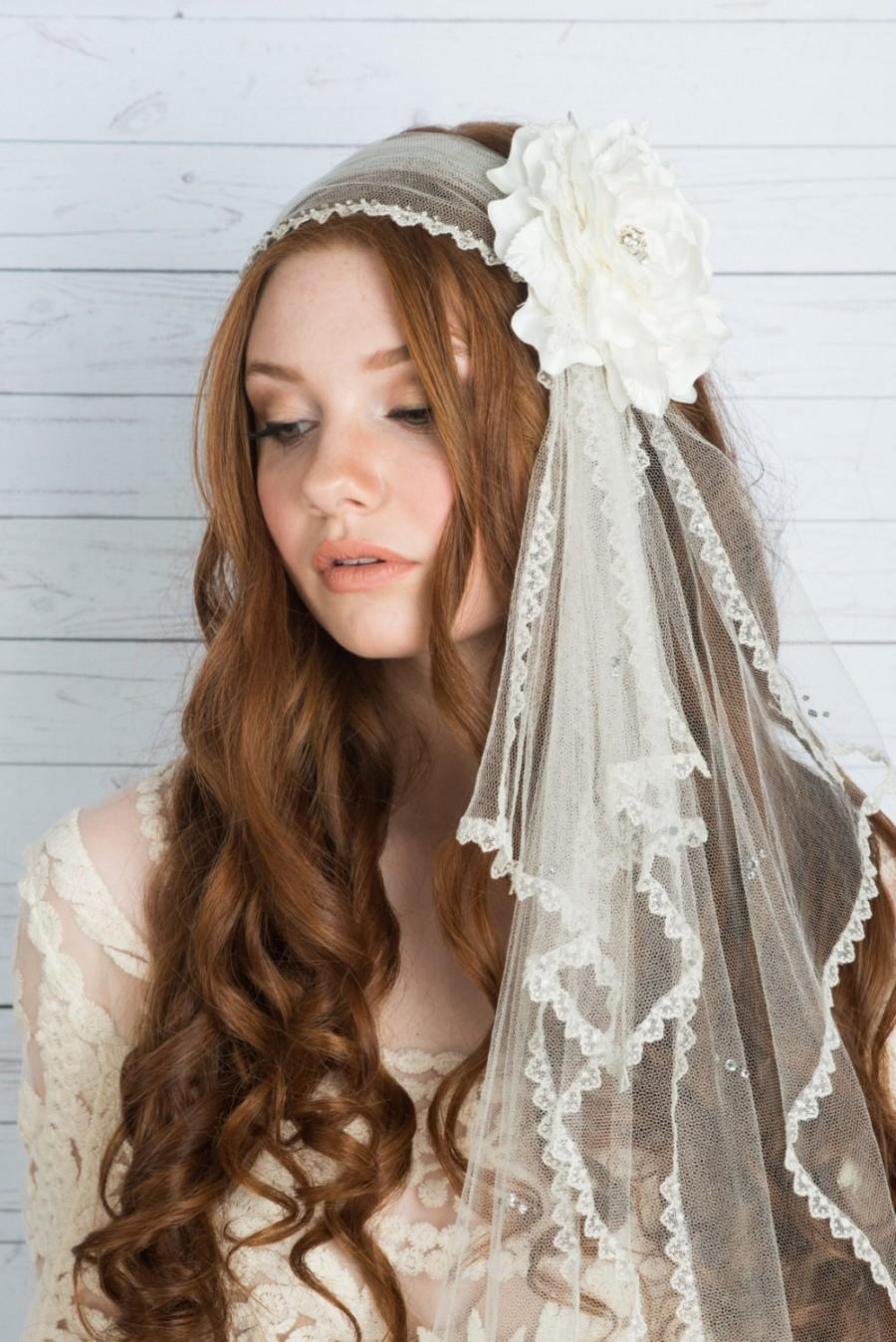 AVA - Silk Headsash Juliet Veil d23dd8cbfd7