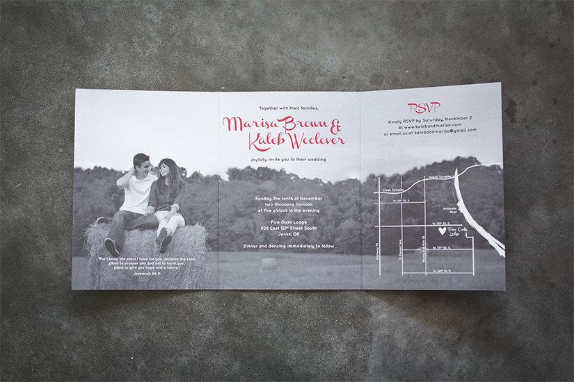 tri fold wedding invitation suite design fee only 2407936 weddbook