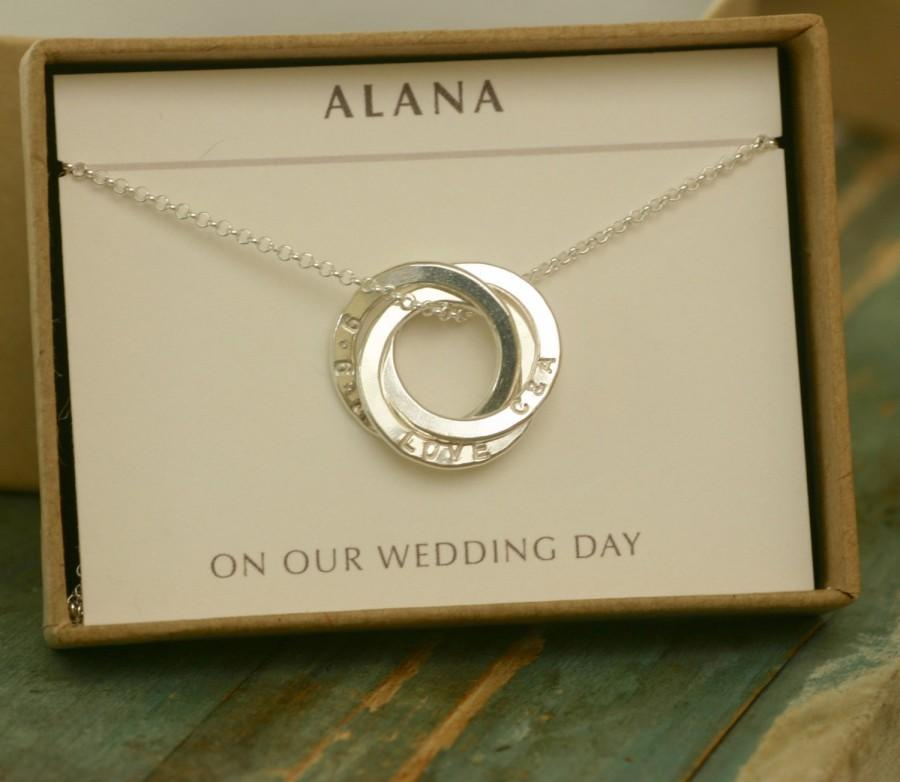 Gift For Bride From Groom Wife To Be Love Necklace Wedding Gifts Engagement Fiancee