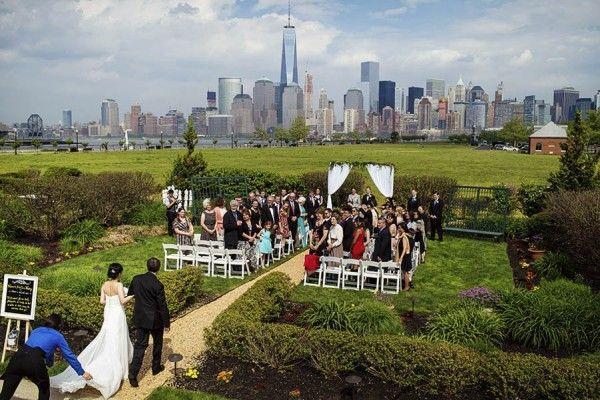 new jersey garden wedding at liberty house restaurant - New Jersey Garden